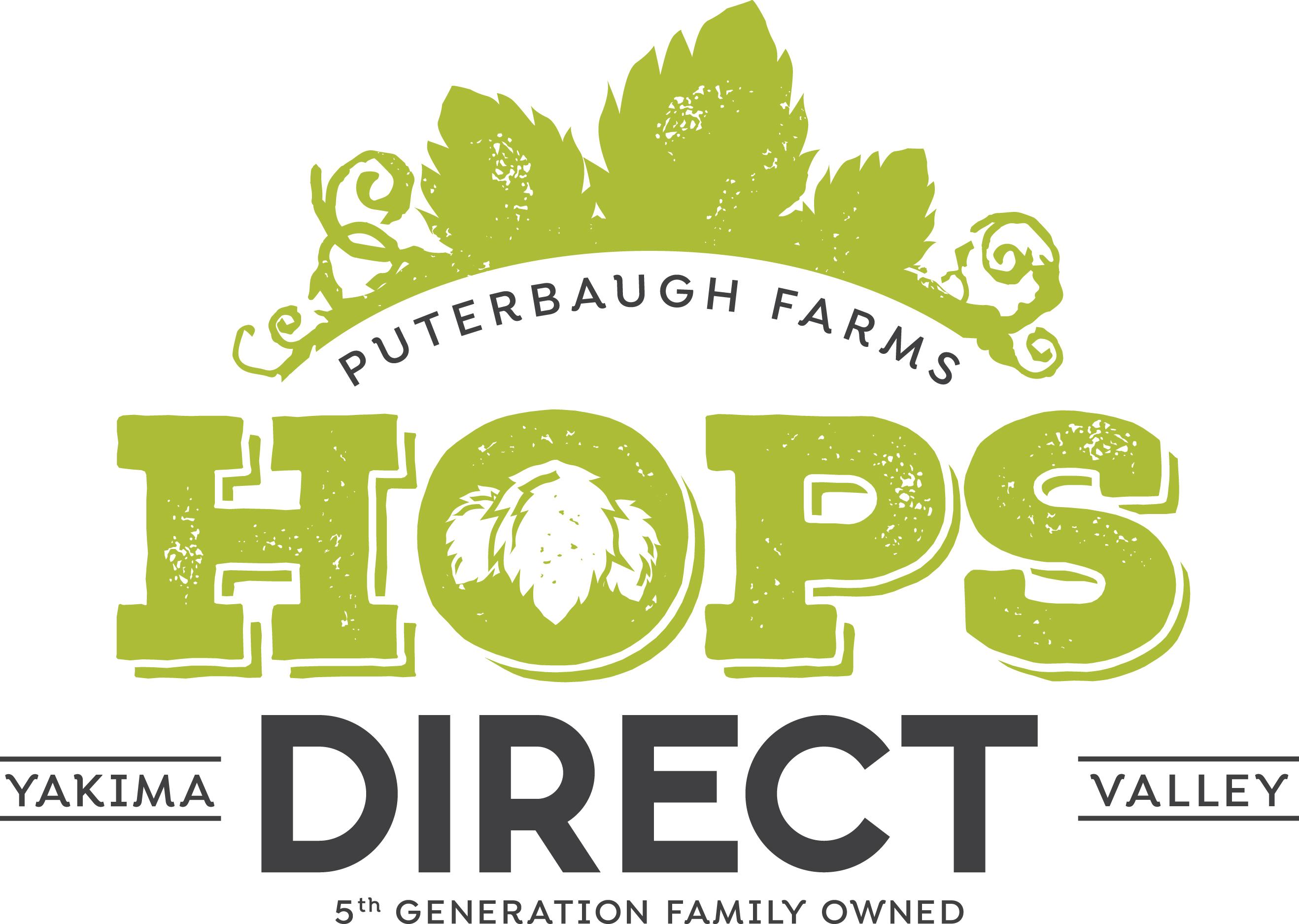 Puterbaugh Farms // Hops Direct logo