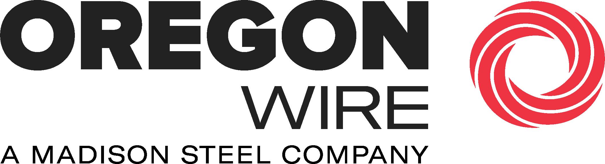 Oregon Wire: A Madison Steel Company logo